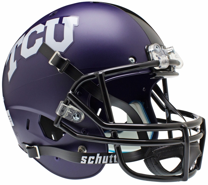 Schutt TCU Horned Frogs Replica Alt 1