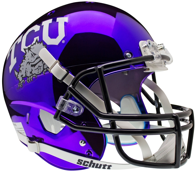 Schutt TCU Horned Frogs Replica Alt 5