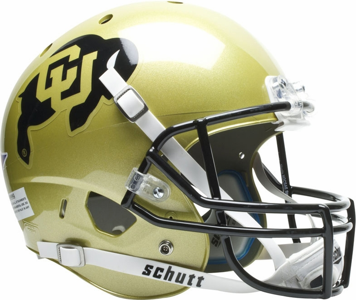 Schutt Colorado Buffaloes XP Replica