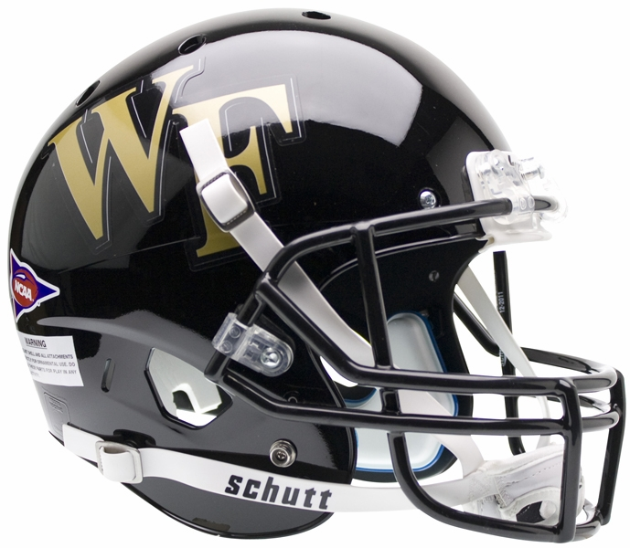 Schutt Wake Forest Demon Deacons XP Replica