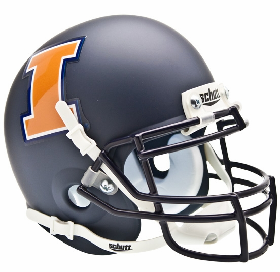 Schutt Illinois Fighting Illini Mini Alt 1