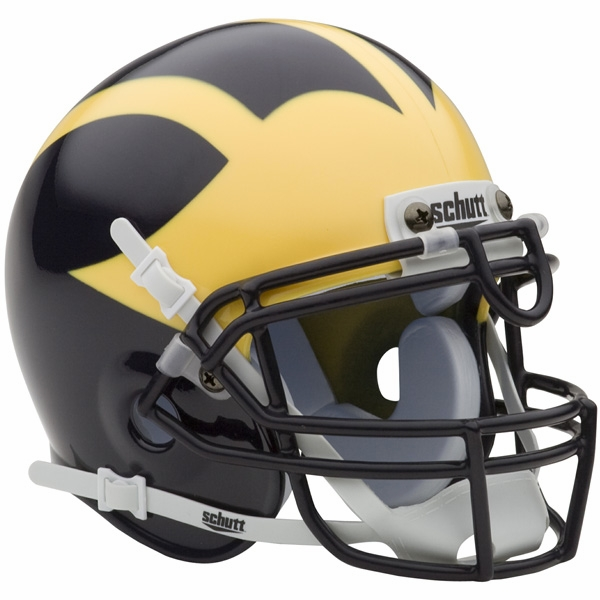 Schutt Michigan Wolverines Mini