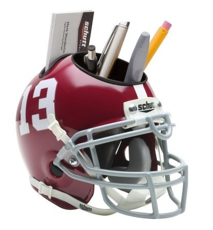 Schutt Alabama Crimson Tide Desk Caddy Football 721200001
