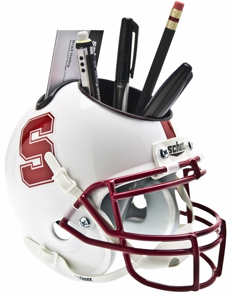Schutt Stanford Cardinal Desk Caddy