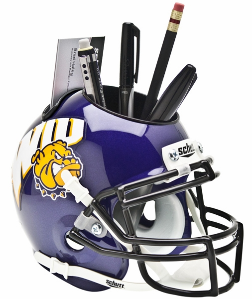 Schutt Western Illinois Leathernecks Desk Caddy