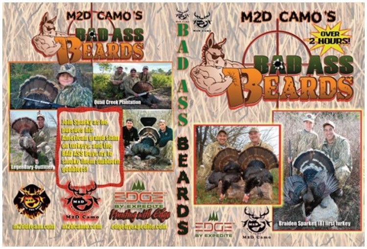 M2D Bad Ass Beards Dvd