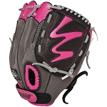 Louisville Slugger FGDV14-HP105 Diva 10.5'' Youth Hot Pink Fastpitch Softball Glove