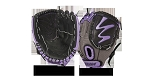 Louisville Slugger FGDV14-HU105 Diva Hot Purple 10.5'' Youth Fastpitch Softball Glove