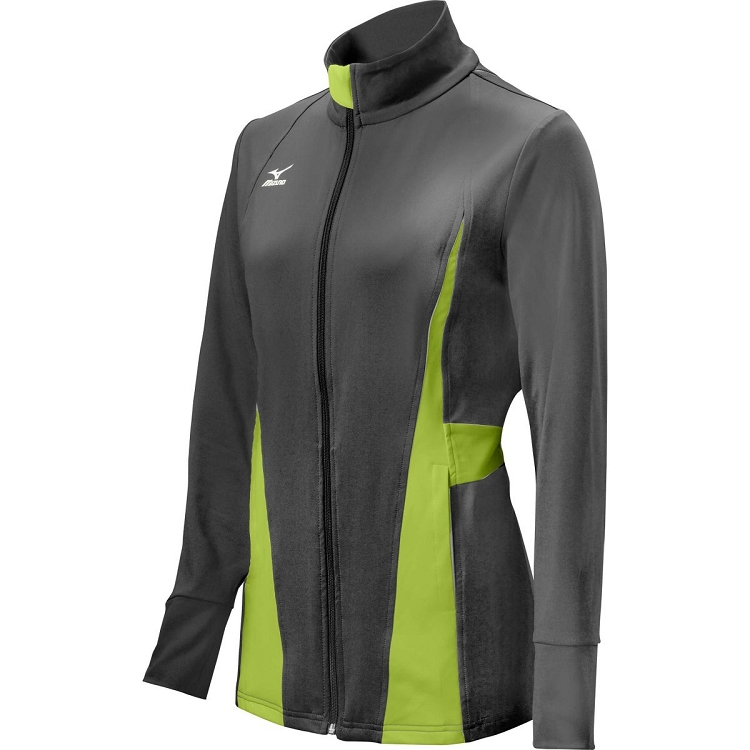 Mizuno Womens Nine Collection Unite Softball Full Zip Jacket
