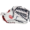 Rawlings Mens Liberty Advanced 12.5 in Fastpitch Finger Shift Outfield Left Hand Glove