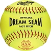 Rawlings Official Dream Seam ASA NFHS 11