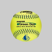 Worth 11'' Pro Tac Super Green Dot Classic Softball USSSA UC11SY
