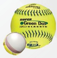 Worth 11'' Pro Tac GSL Super Green Dot Slowpitch Softball UC11SYG