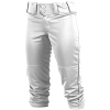 Rawlings Girls Low Rise FPEX Plush Fastpitch Softball Pants - WHITE - Size LARGE