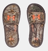Under Armour Ignite Camo V Boys' Slides - Camo/Brown/Blaze - Size 7Y