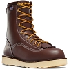 Danner Mens Power Foreman 8 Inch Brown Work Boot