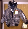 Walls Youth Insulated Hooded Jacket - Realtree All-Purpose Camo