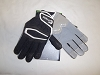Cutters Adult HX80 Hexpad Lineman Football Gloves - Black - Size XL