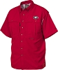 Drake Georgia Vented Short Sleeve Wingshooter's Shirt - Red - Size XXL