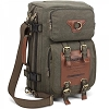 Kaukko Multi-function Canvas Backpack/Briefcase