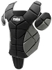 Schutt S2 Reversible 16 Inch Chest Protector Black/Gray