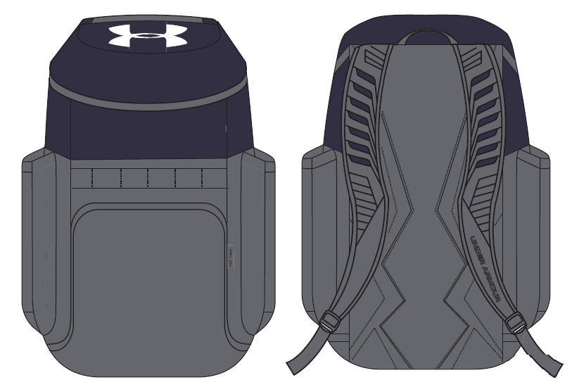 e86ed4affd5 Under Armour Team Undeniable 3.0 Backpack 1309353