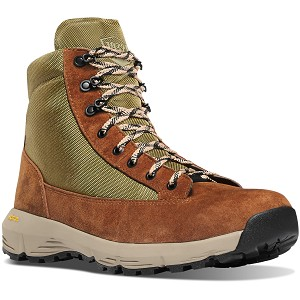 Danner Mens Explorer 650 Brown/Olive 6