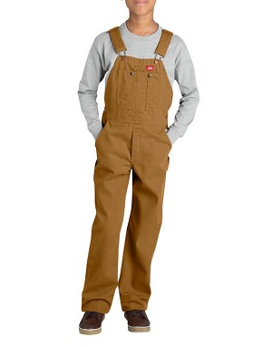 Dickies Boys Kids Duck Bib Overall KB103
