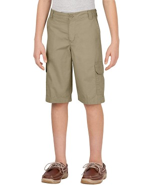 Dickies Boys Relaxed Fit Ripstop Cargo Short KR414