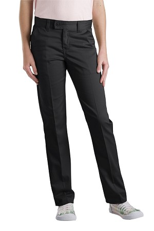 Dickies Girls Slim Straight Stretch Twill Pant KP5519