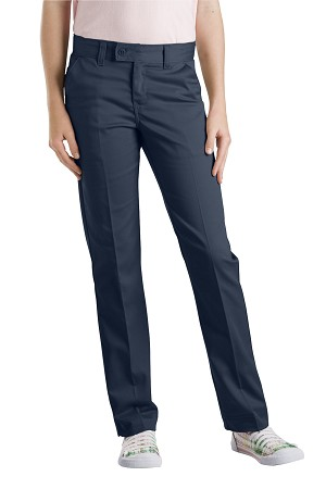 Dickies Girls Slim Straight Stretch Twill Pant 4-6X