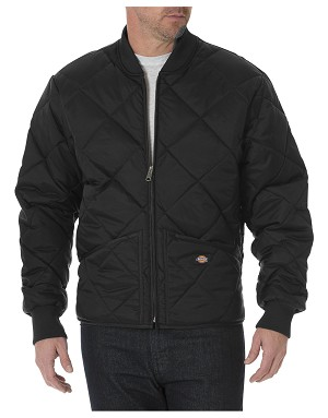 Dickies Mens Diamond Quilted Nylon Jacket
