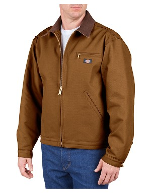 Dickies Mens Rigid Duck Blanket Lined Jacket