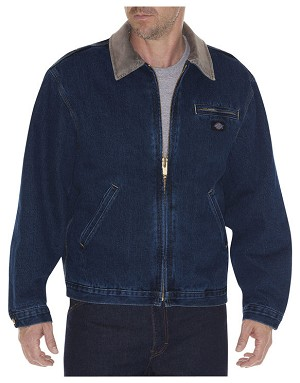 Dickies Mens Washed Denim Jacket