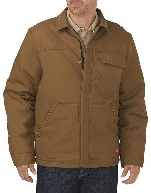 Dickies Mens Flame Resistant Insulated Duck Jacket