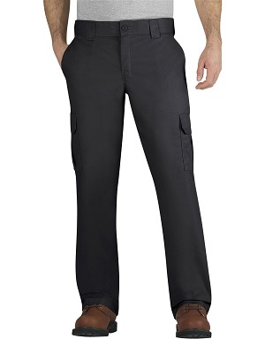 Dickies Mens Regular Fit Straight Leg Cargo Pant