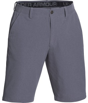 Under Armour Mens Airvent Flat Front Short - Graphite - Size 32