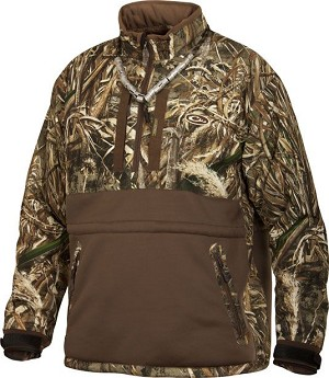 Drake Heavyweight Eqwader 1/4 Zip - Realtree Max-5 - Size XXL