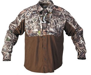 Drake Eqwader Two Tone Shirt