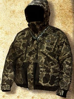 Drake Old School Lst Insulated Waterfowler S Coat