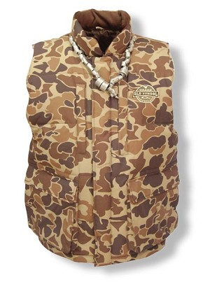 Drake Old School LST Down Vest with Magnattach