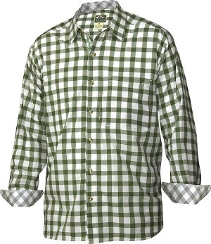 Drake Accented Gingham Cotton Shirt