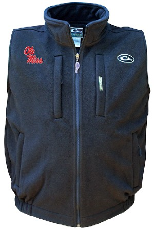 Drake Ole Miss Windproof Layering Vest