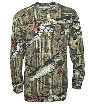 Walls Mossy Oak Long Sleeve Pocket Tee