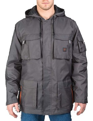 Walls Mens Cut And Shoot Modern Work Hooded Coat