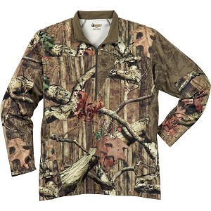Rocky Silent Hunter Zip Shirt