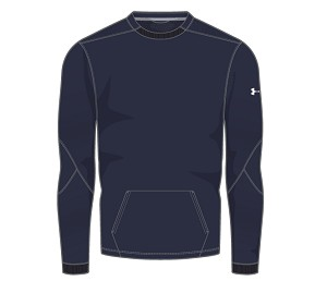 Under Armour Mens CTG Warm-Up Layering Crew