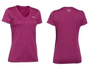 Under Armour Womens Training Twisted Tech V Neck