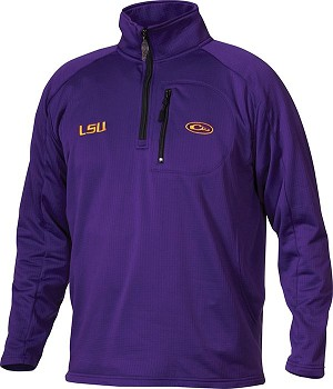 Drake LSU BreathLite Quarter ZIp