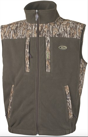 Drake Two-Tone Layering Vest